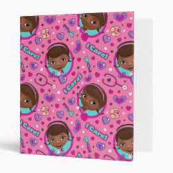 Avery Signature 1' Binder with Cute Cartoon Disgust from Inside Out design