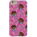 Doc McStuffins | I Care Pink Pattern Barely There iPhone 6 Plus Case