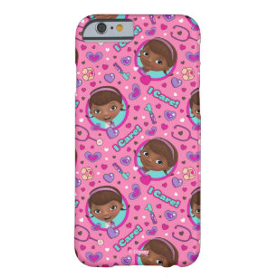 finest selection 319c2 69020 Doc McStuffins | I Care Pink Pattern Barely There iPhone 6 Case