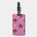 Doc McStuffins | I Care Pink Pattern Luggage Tag