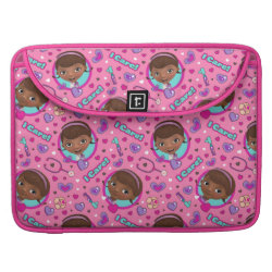 Macbook Pro 15' Flap Sleeve with Cute Cartoon Disgust from Inside Out design