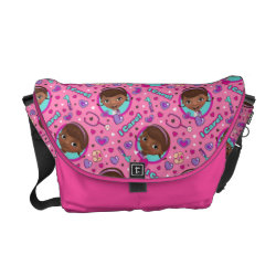 Rickshaw Medium Zero Messenger Bag with Descendants Evie: Future Queen design