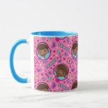 Doc McStuffins | I Care Pink Pattern Mug