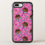 Doc McStuffins | I Care Pink Pattern OtterBox Symmetry iPhone 8 Plus/7 Plus Case