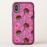 Doc McStuffins | I Care Pink Pattern OtterBox Symmetry iPhone X Case