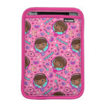 Doc McStuffins | I Care Pink Pattern Sleeve For iPad Mini