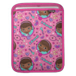 Doc McStuffins | I Care Pink Pattern Sleeve For iPads