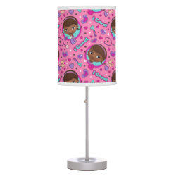 Table Lamp with Descendants Evie: Future Queen design