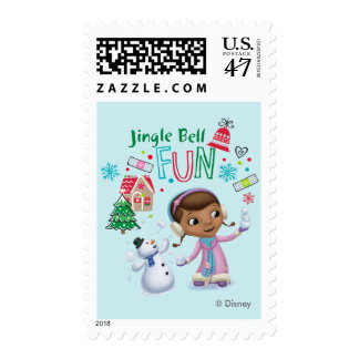 Doc McStuffins   Jingle Bell Fun Postage