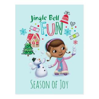 Doc McStuffins   Jingle Bell Fun Postcard
