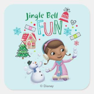 Doc McStuffins | Jingle Bell Fun Square Sticker