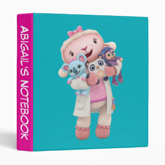Doc McStuffins   Lambie - Hugs Given Here 3 Ring Binder