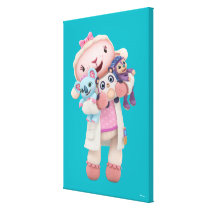 Doc McStuffins | Lambie - Hugs Given Here Canvas Print