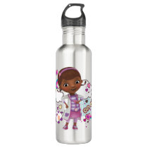 Doc McStuffins | On Alert Stainless Steel Water Bottle