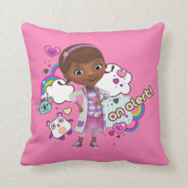 Doc McStuffins | On Alert Throw Pillow