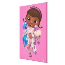 Doc McStuffins | Sharing the Care Canvas Print