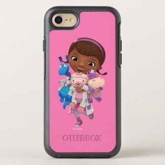 Doc McStuffins   Sharing the Care OtterBox Symmetry iPhone 8/7 Case