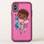 Doc McStuffins | Sharing the Care OtterBox Symmetry iPhone X Case