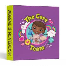 Doc McStuffins | The Care Team 3 Ring Binder