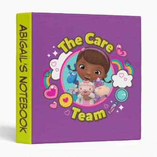 Doc McStuffins   The Care Team 3 Ring Binder