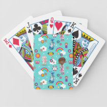 Doc McStuffins | The Care Team Pattern Bicycle Playing Cards