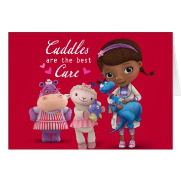 Disney Themed Doc McStuffins Valentine Card
