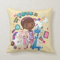 Doc McStuffins | We've Got Toys to Fix Throw Pillow