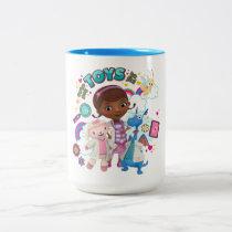 Doc McStuffins | We've Got Toys to Fix Two-Tone Coffee Mug