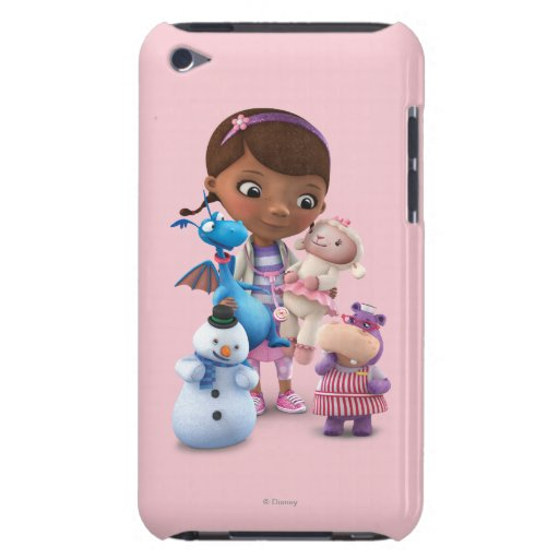 Doc. McStuffins y sus amigos animales Barely There iPod Fundas