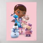 Doc. McStuffins y sus amigos animales Posters