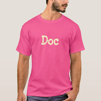 """Doc"" T-Shirt (Pink)"