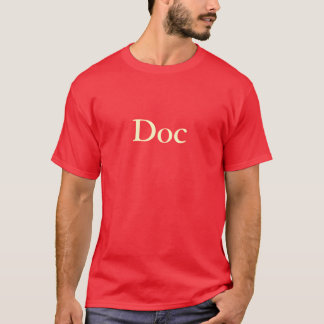 """Doc"" T-Shirt (Red)"