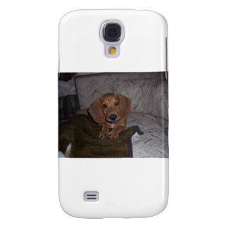 Doc the Dachshund Doxie Galaxy S4 Cover
