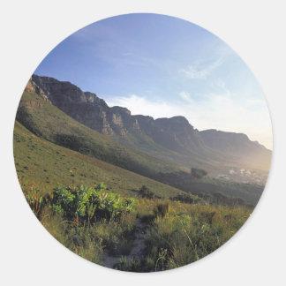 Doce apóstoles, Cape Town, Western Cape Pegatina Redonda