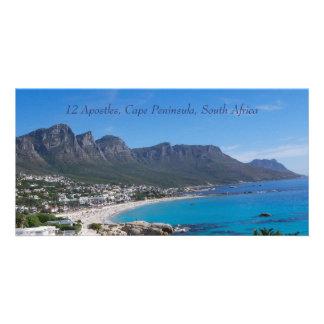 Doce apóstoles - península del cabo tarjetas con fotos personalizadas