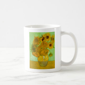Doce girasoles taza clásica