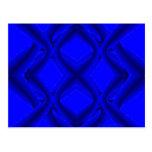 Doce líneas azules y postales de Eights