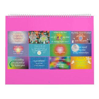 Doce recordatorios diarios calendarios de pared