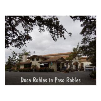 Doce Robles durante la estación de la cosecha Postales