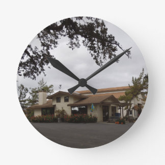 Doce Robles During Harvest Season Wall Clock