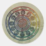 Doce tribus y discípulos pegatina
