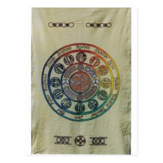 Doce tribus y discípulos tarjeta postal