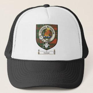 Dochart Clan Crest / Clan Badge & Tartan Trucker Hat