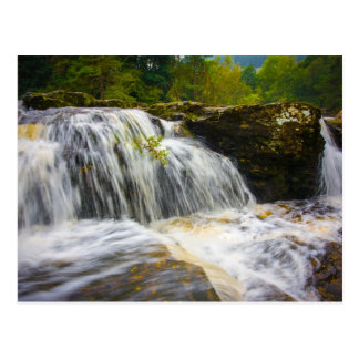 Dochart Falls Scotland Postcard