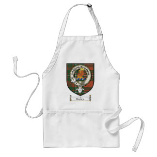 Docharty Clan Crest / Clan Badge & Tartan Adult Apron