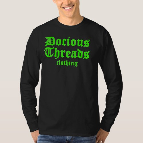 Docious threads clothing T_Shirt
