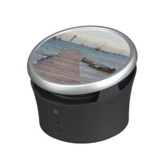 Dock and lobster pots speaker