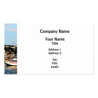 Dock at King's Wharf Bermuda Business Card