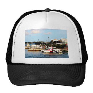 Dock at King's Wharf Bermuda Trucker Hat