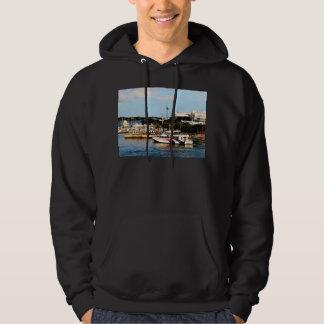 Dock at King's Wharf Bermuda Hoodie
